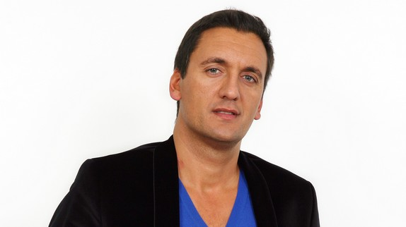 Dany Brillant posing during a photo shoot - Brussels