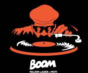 Major Lazer & MOTi – Boom (Feat. Ty Dolla $ign, Wizkid, & Kranium)