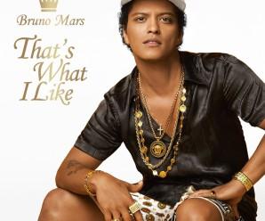 Bruno Mars – That's What I Like